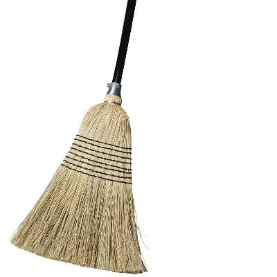 8 Tie Millet Blend Broom